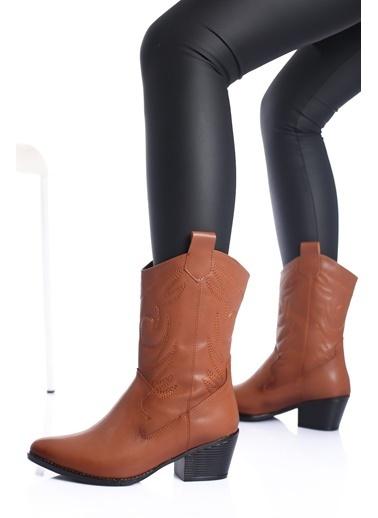 MODAGON Çizme Taba